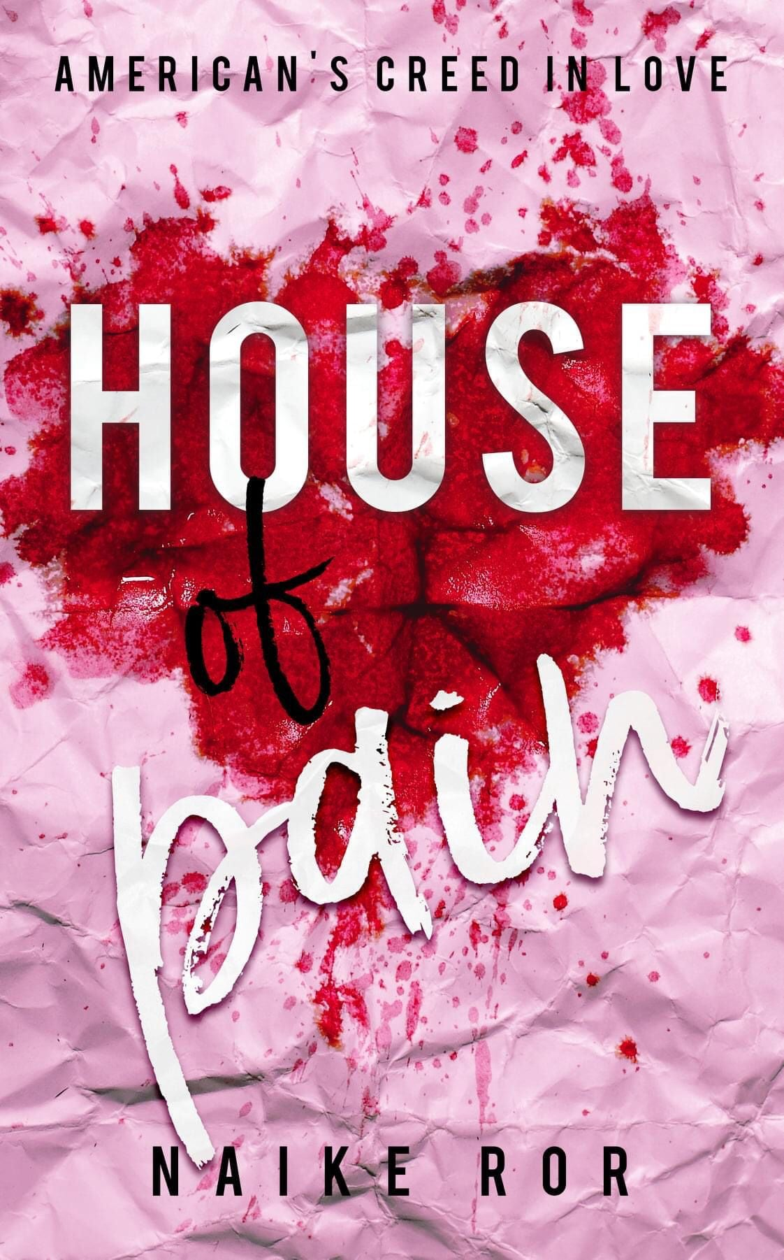 COVER REVEAL: House of pain